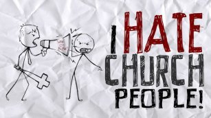 Church - Hate church people