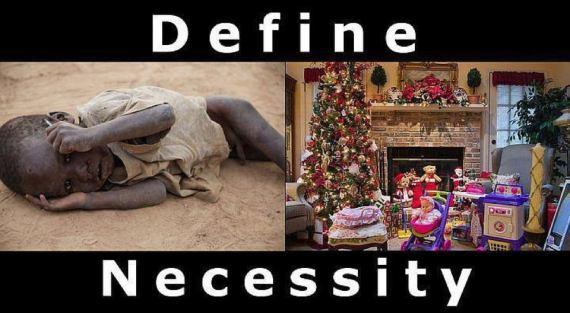 Christmas - Necessity