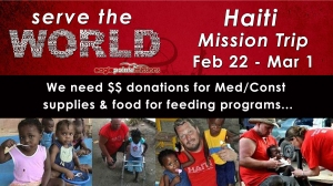 EPC - Haiti Mission - Needs