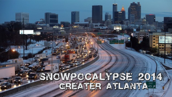 Snowpocalypse - ATL 2014