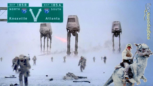 Snowpocalypse - ATL Star Wars - 2