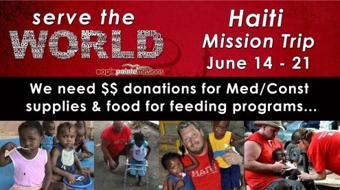 EPC - Haiti Mission - Needs
