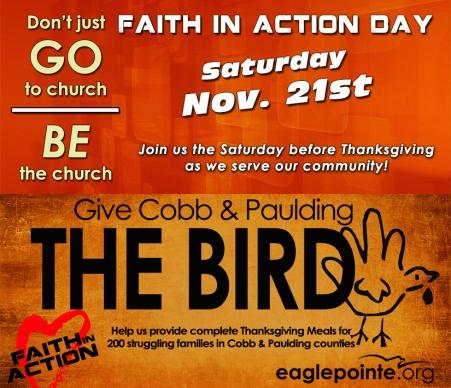 EPC - Faith In Action - Give the Bird - logo